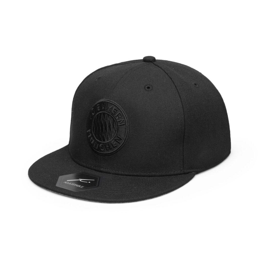 FC Bayern M/ünchen Baseballcap Black Logo