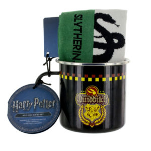 BUY HARRY POTTER SLYTHERIN QUIDDITCH MUG SOCKS SET IN WHOLESALE ONLINE
