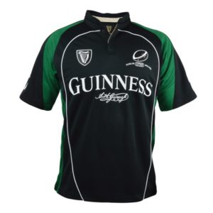 BUY GUINNESS BLACK GREEN PERFORMANCE RUGBY JERSEY IN WHOLESALE ONLINE