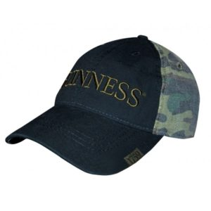 BUY GUINNESS WASHED CAMO BASEBALL HAT IN WHOLESALE ONLINE!