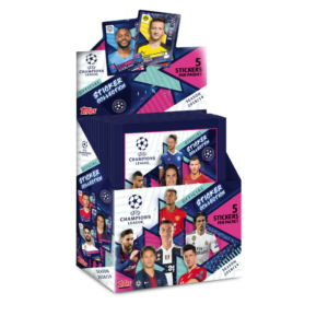 BUY 2018-19 TOPPS CHAMPIONS LEAGUE STICKERS BOX IN WHOLESALE ONLINE