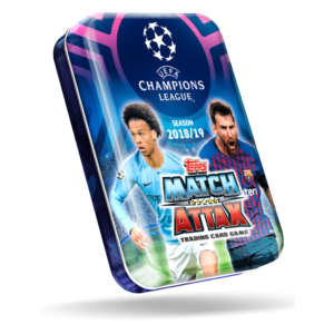 BUY 2018-19 TOPPS MATCH ATTAX CHAMPIONS LEAGUE CARDS MINI TIN IN WHOLESALE ONLINE