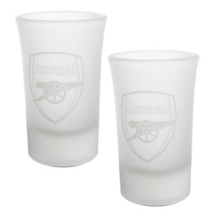 BUY ARSENAL FROSTED SHOT GLASS SET IN WHOLESALE ONLINE!