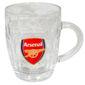 BUY ARSENAL GLASS TANKARD IN WHOLESALE ONLINE!