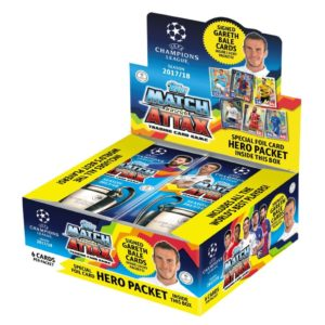 BUY 2017-18 TOPPS MATCH ATTAX CHAMPIONS LEAGUE CARDS BOX IN WHOLESALE ONLINE!
