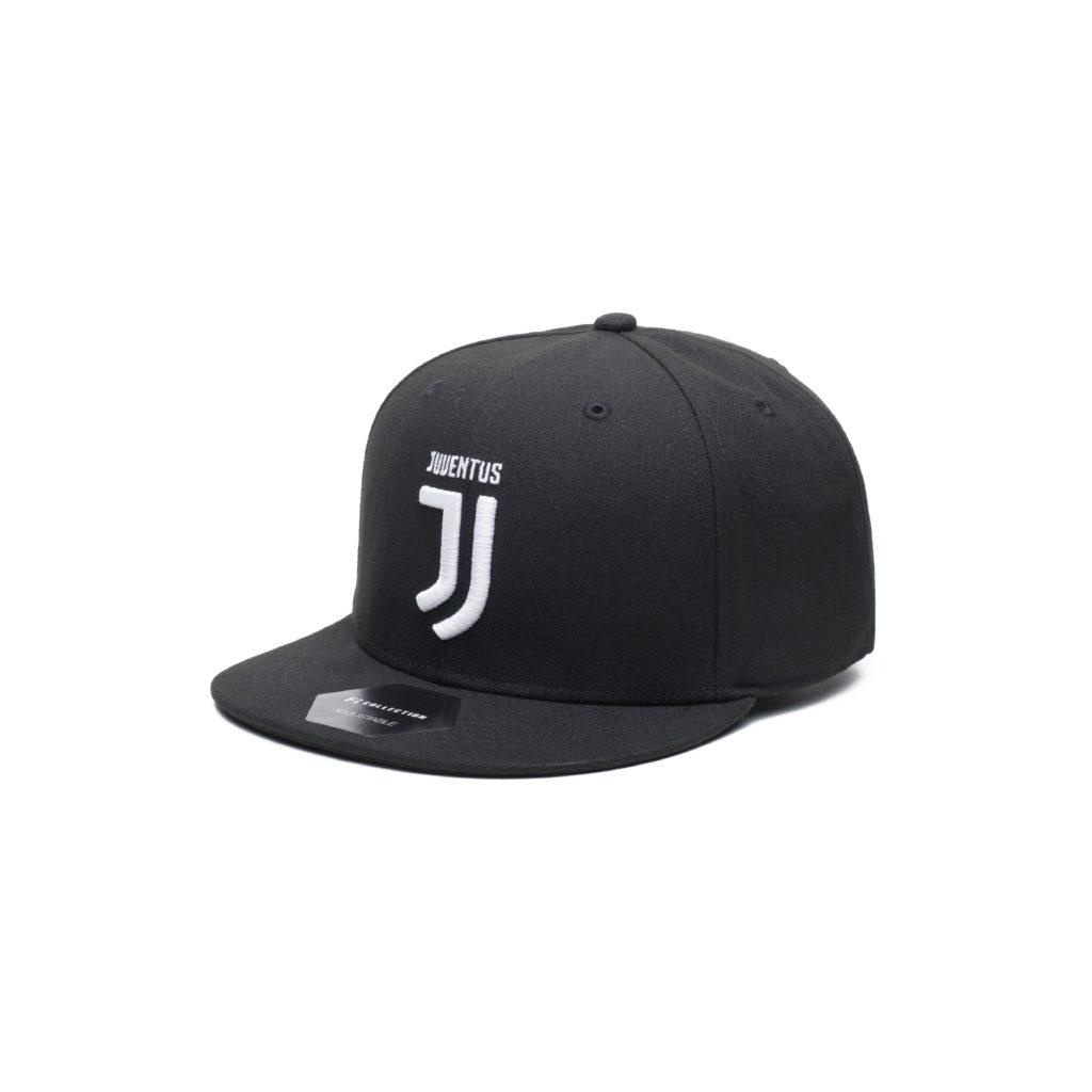 df58e27464b53d Buy Juventus Black Flat Peak Snapback in wholesale online!