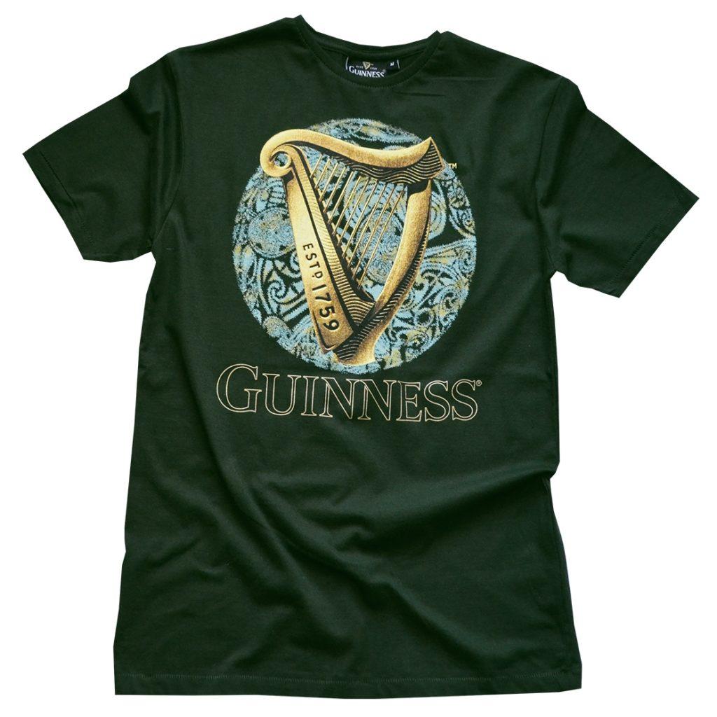 Buy A Harp >> Guinness Green Harp Celtic Circle T Shirt