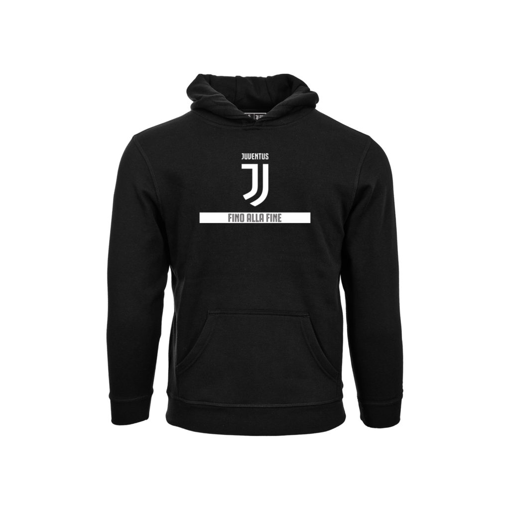 check out f9ecf c846a JUVENTUS - BLACK HOODIE (YOUTH)
