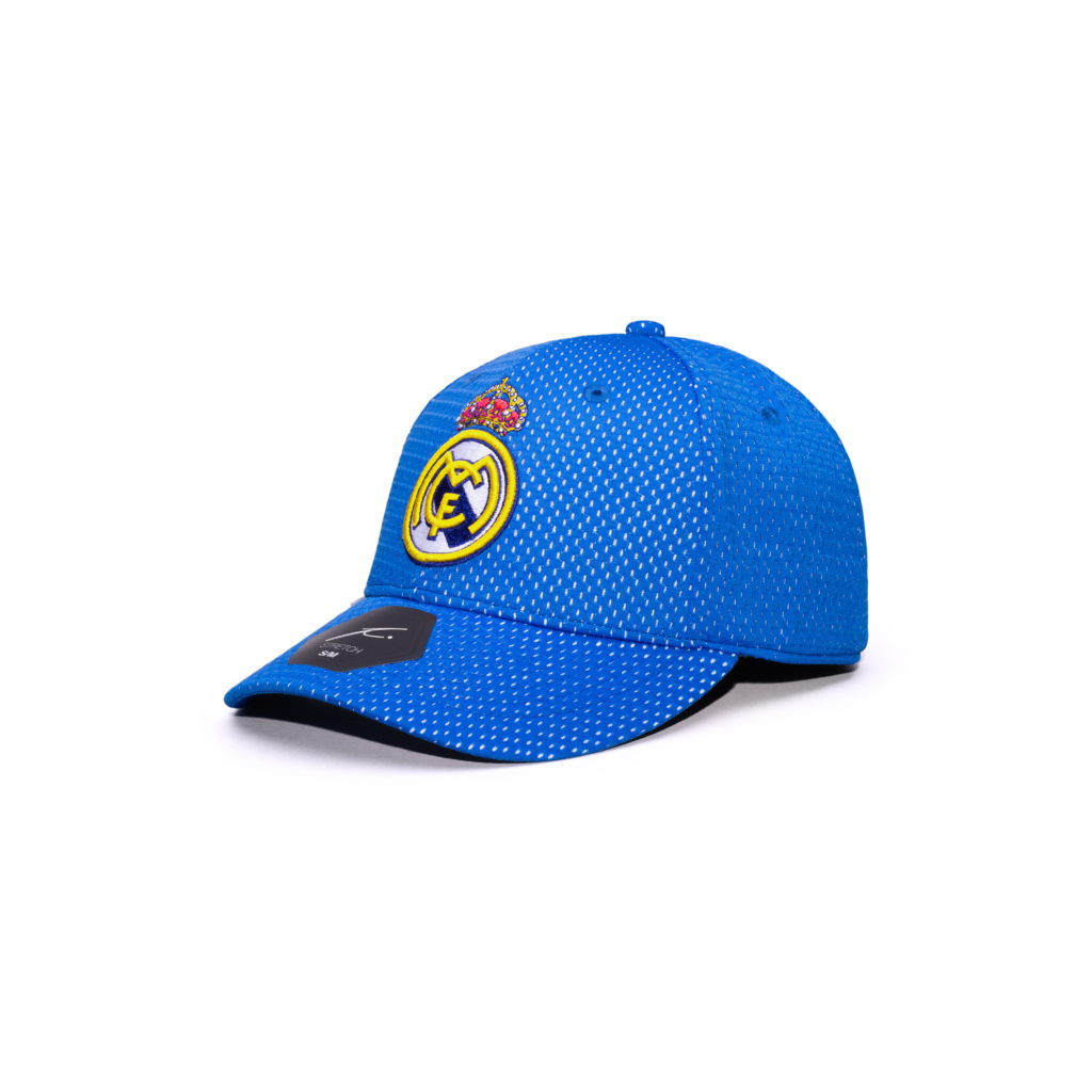 Blue Stretch Baseball Hat Fi Collection Real Madrid